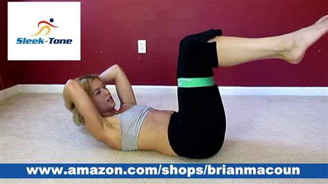 resistance band loop abs workout youtube