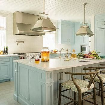 blue galley kitchen cottage kitchen arent pyke blue cottage kitchens design decor photos pictures