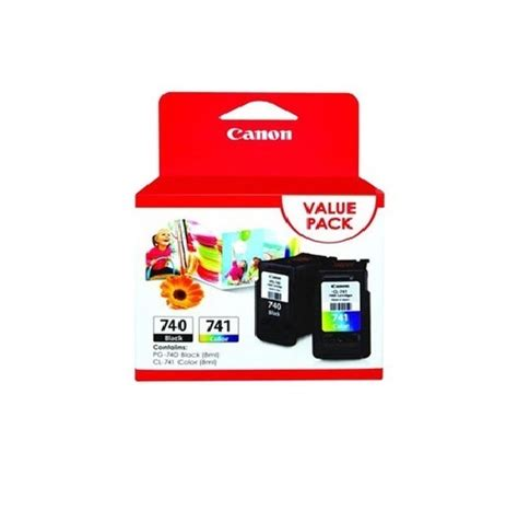Canon 740 Black Original ink cartridge canon value pack pg 740 black cl 741 color original ink advantage cartridge