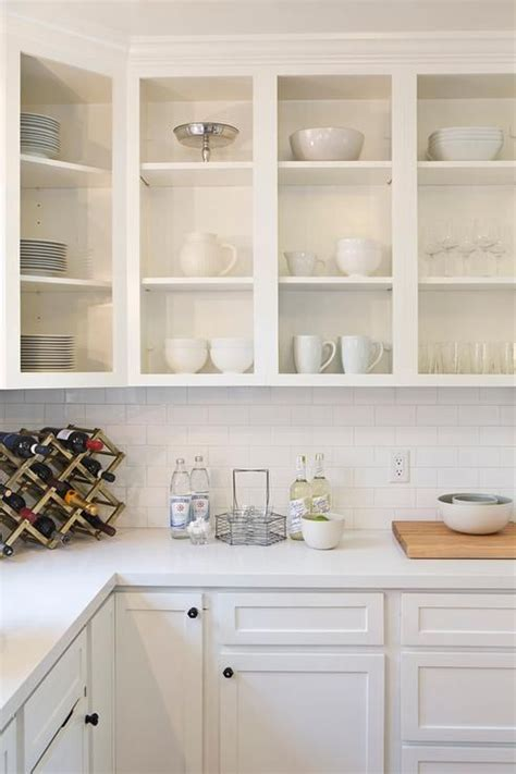 fabulous white kitchen features upper cabinets