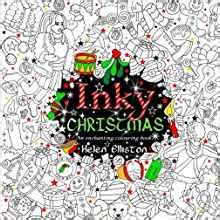 amazon com inky christmas an enchanting festive colouring book inky colouring books