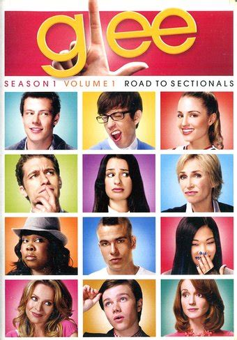 glee season 1 sectionals glee season 1 volume 1 road to sectionals 4 dvd