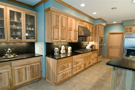 hickory kitchen cabinets wholesale kitchen traditional kitchen natural hickory kitchen