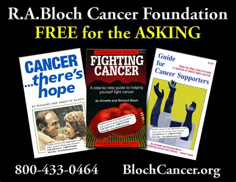 order books r a bloch cancer foundation