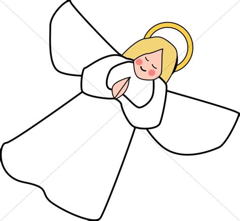 angle line art clipart angel clipart