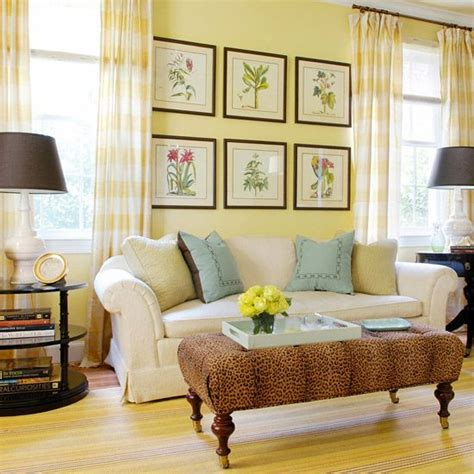 pale yellow decorating wall decor decorating with yellow walls living room