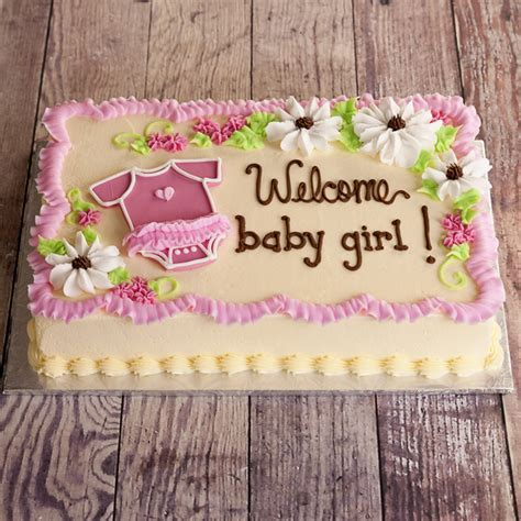 baby shower sheet cakes for baby shower cakes