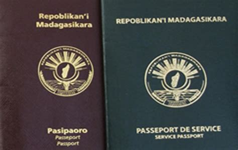 Passport Rule Temporarily Suspended by Madagascar Issuance Of Passports Temporarily Suspended
