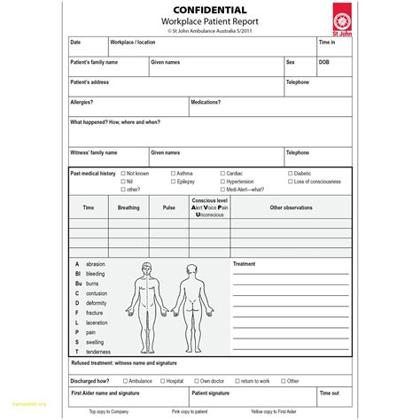 incident report form template qld incident report form template qld lovely workplace patient