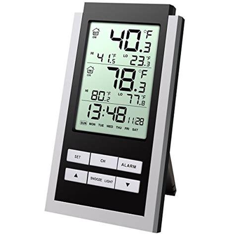 innen außen thermometer funk preisvergleich oria funk wetterstation innen au 223 en