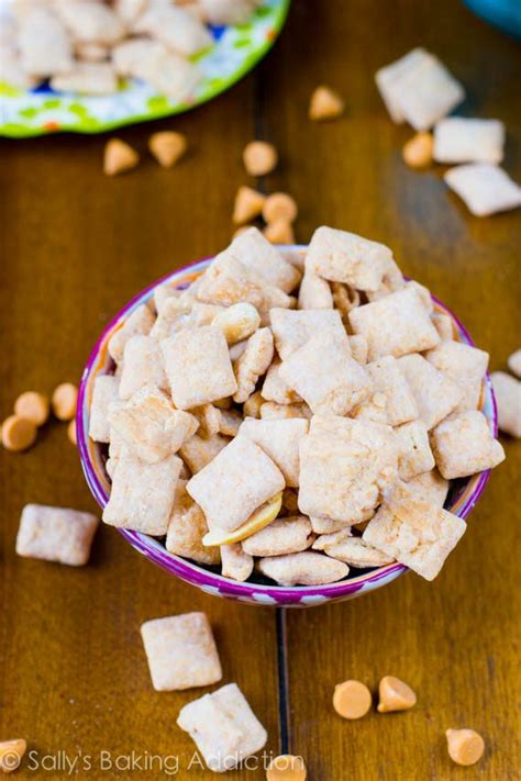 puppy chow recipe without peanut butter butterscotch peanut butter puppy chow sallys baking addiction