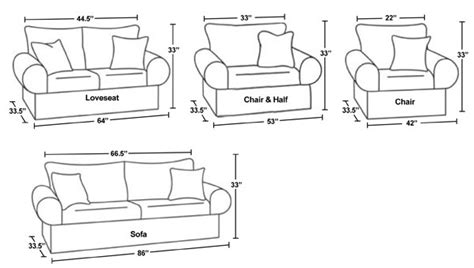 average length of a couch average furniture sizes oh purple panda