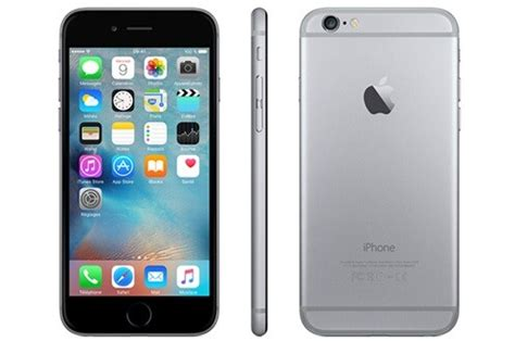 iphone apple iphone 6 64go gris sideral iphone 6 4042867 darty