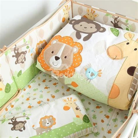 forest animal crib bedding animals party in the forest theme crib bedding set