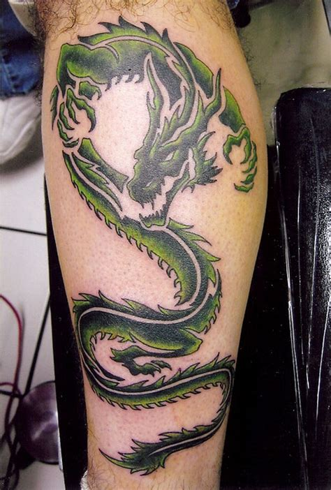 tattoo dragon leg dragon tattoos on leg www pixshark com images