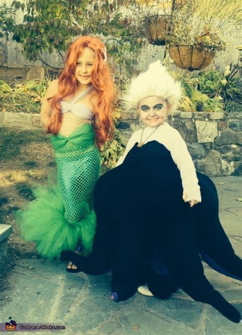 mermaid  ursula halloween costumes