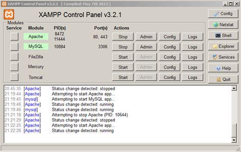 membuat database dengan xp melalui cmd membuat tabel dengan command prompt modul aplikasi xampp