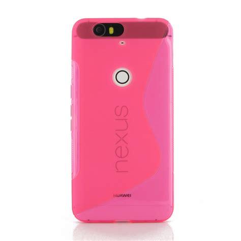 pink pattern cases google nexus 6p soft case pink s shape pattern pdair