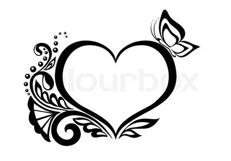 Muster Custom Coffee schwarz wei 223 e symbol f 252 r ein herz mit blumenmuster und
