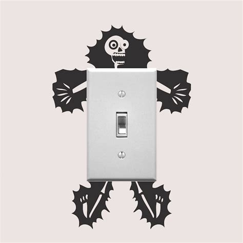 wall designs stickers electrocuted outlet decal sticker vinyl wall