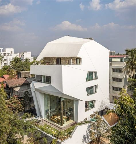 oragami house the origami house pune india detached house