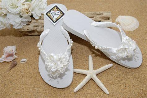 Bridal Flip FlopsBridal Sandals Beach Wedding by