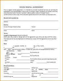 Free Lease Agreement Template No Credit Card 3 Rental Agreement Template Free Teknoswitch