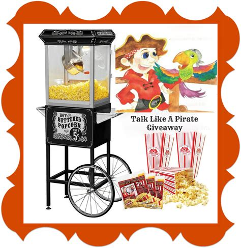 ends meet with a popcorn popper books royalegacy reviews and more win a popcorn cart popcorn
