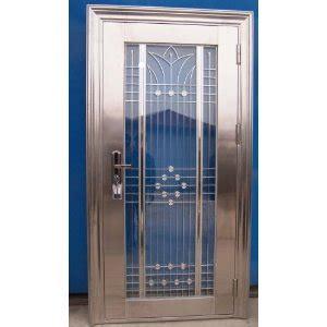 laminate your doors with metal designs