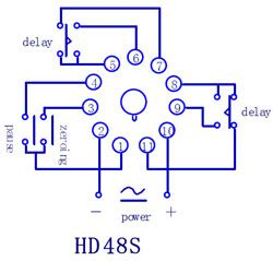 relay 11 pin wiring diagram 11 pin relay wiring diagram