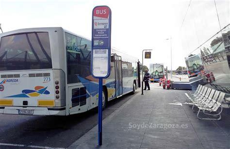 barcelona zaragoza bus bus de zaragoza al aeropuerto horarios tarifas y recorrido