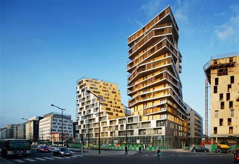 construction designs futuristic residential building design in paris