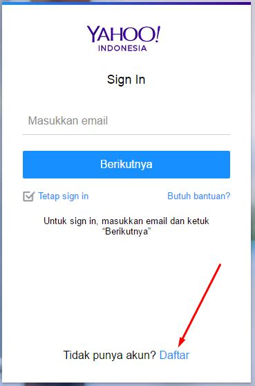 membuat yahoo indonesia cara membuat email baru yahoo indonesia terbaru espada blog