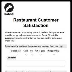 restaurant customer satisfaction survey template formwize exles