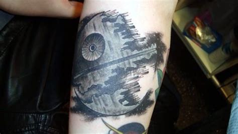 death star tattoo 45 most ironic wars tattoos designs