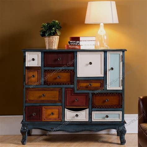 Colored Drawers by 5 Colored Drawers Cabinet Guangdong Foshan Wood Furniture