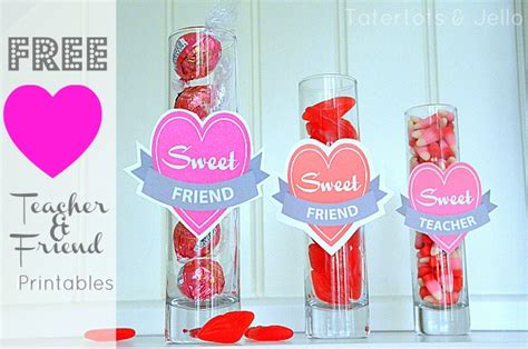 valentines day gifts for friends free valentine printables