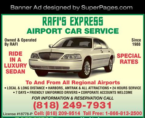 car service ad rafis express transportation services limousine car