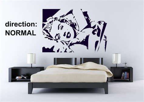 Wall Sticker Hitam Uk 60 X 90 marilyn vinyl decoration durable wall stickers decal decor 60cm x 90cm uk ebay
