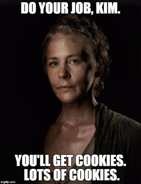 Carol Walking Dead Meme - carol walking dead imgflip
