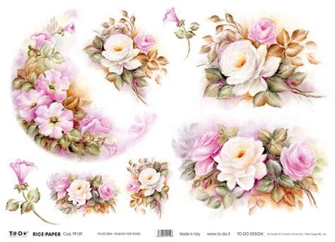 Decoupage Paper Flowers - carta decoupage fiori szukaj w flowers kwiaty