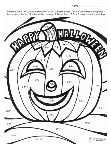 halloween coloring pages high school 41 best lectoescritura halloween images on pinterest