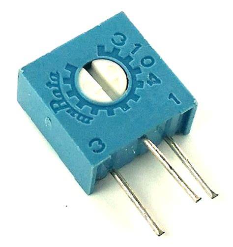 variable resistor 502 5k ohm trimpot variable resistor murata pot3104x 1 502 west florida components