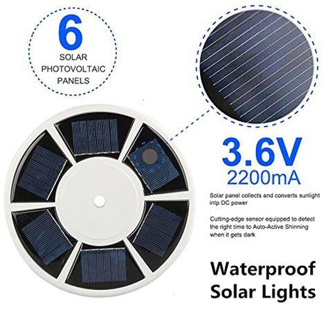 Boyon Solar Flagpoles Lights Brightest 26 Led Flagpole Lasting Solar Lights