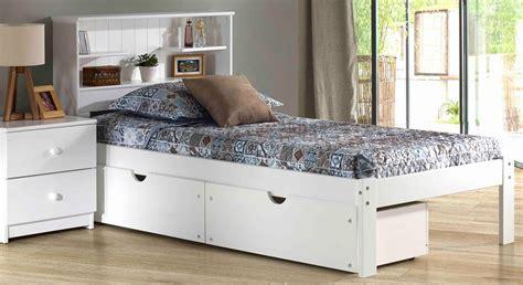 bed case book case bed white mattress superstore