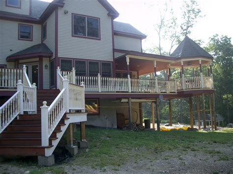 best in backyards mahopac ny composite decks and railings best in backyards
