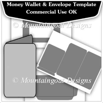money card template money wallet envelope template cu ok 163 2 50 instant