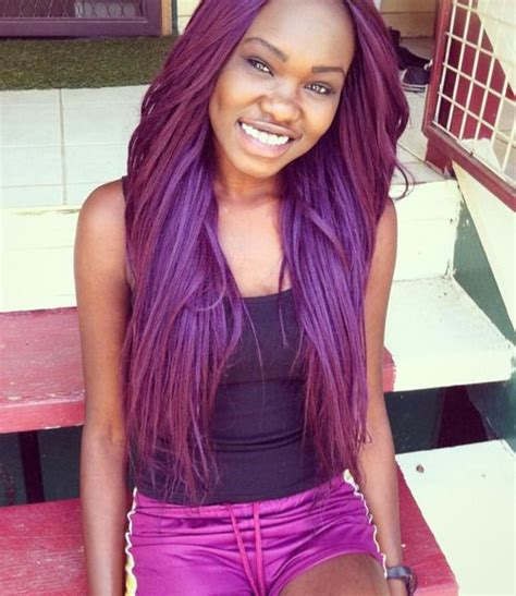 girl hairstyles purple outfittrends top 13 cute purple hairstyles for black