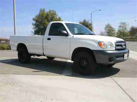 Toyota Tundra Two Door Find Used 2003 Toyota Tundra Base Standard Cab 2