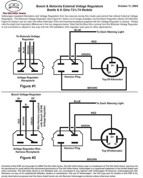 ford alternator regulator wiring diagram new wiring